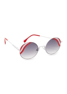 Fendi Round Waves Sunglasses
