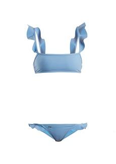 Fendi Ruffled bonded bikini