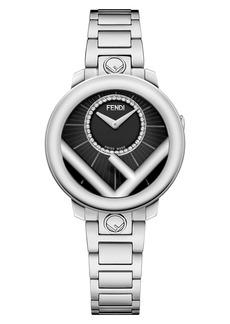 Fendi Run Away Diamond Bracelet Watch, 28mm