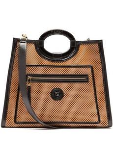 Fendi Runaway medium cut-out leather tote