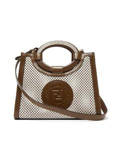 Fendi Runaway small perforated-leather bag