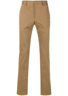 Fendi side stripe trousers - Brown