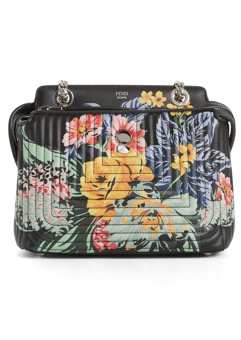 cf8ffa75086b On Sale today! Fendi Fendi DOTCOM Click Flower Quilted Leather ...