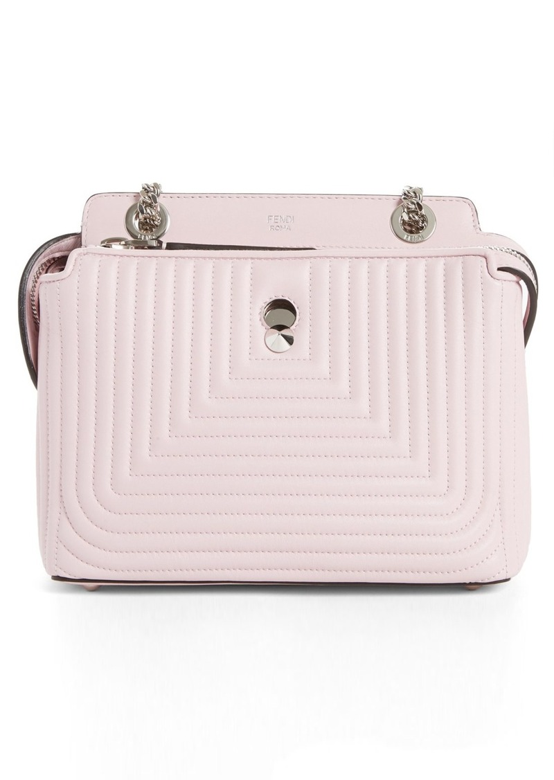 cf37c6a7ed Fendi Fendi DOTCOM Click Quilted Leather Shoulder Bag