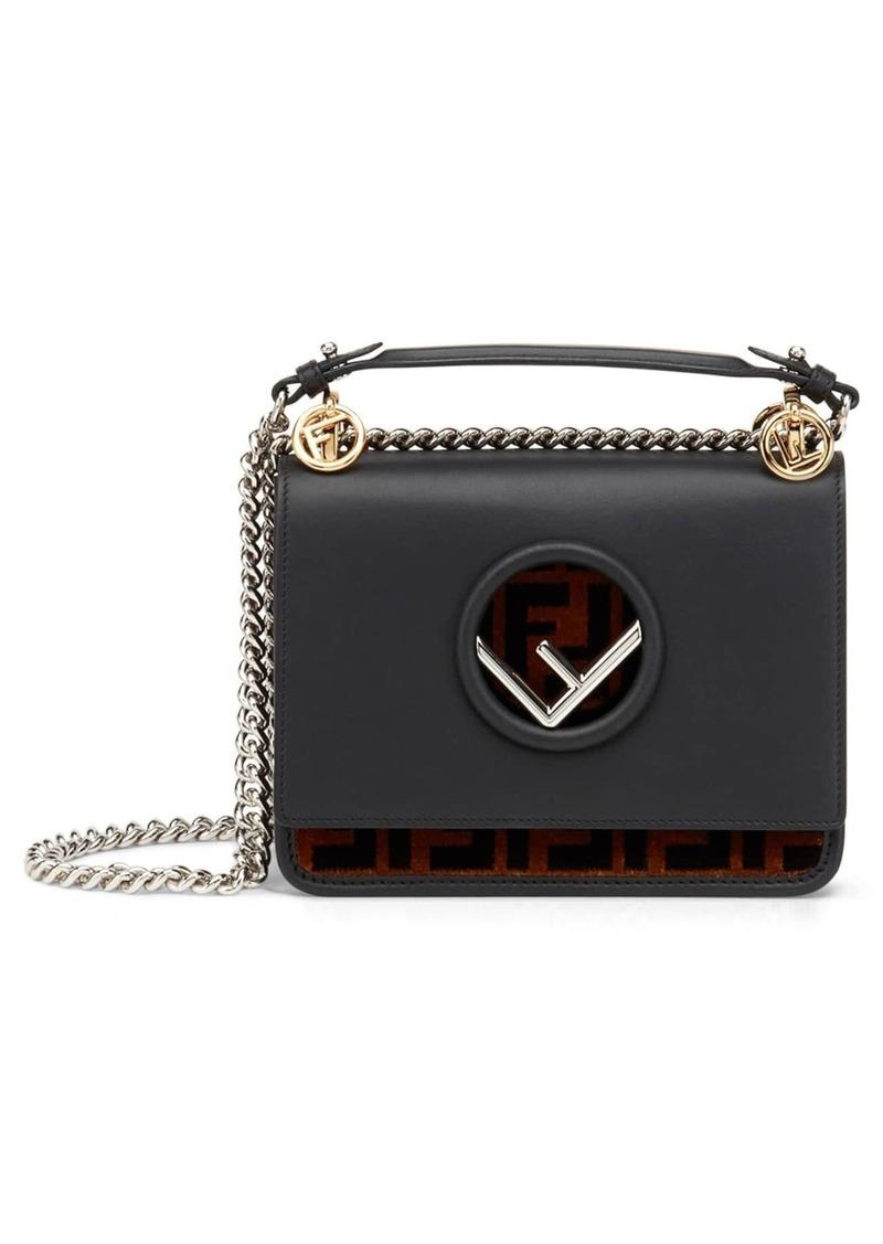 71153a30ca Small Kan I Logo Leather Shoulder Bag