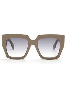 Fendi Square-frame acetate sunglasses