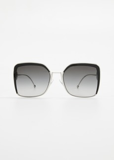 Fendi Square Oversized Sunglasses