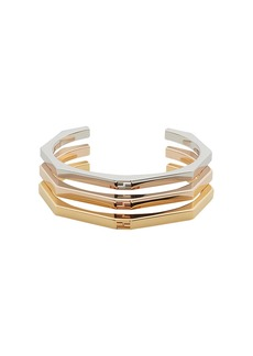 Fendi stacked Baguette bracelets