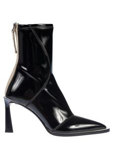 Fendi Stitch Detail Ankle Boots