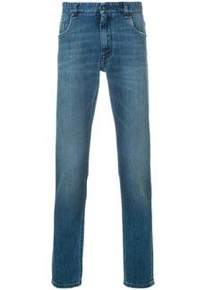 Fendi straight leg jeans - Blue