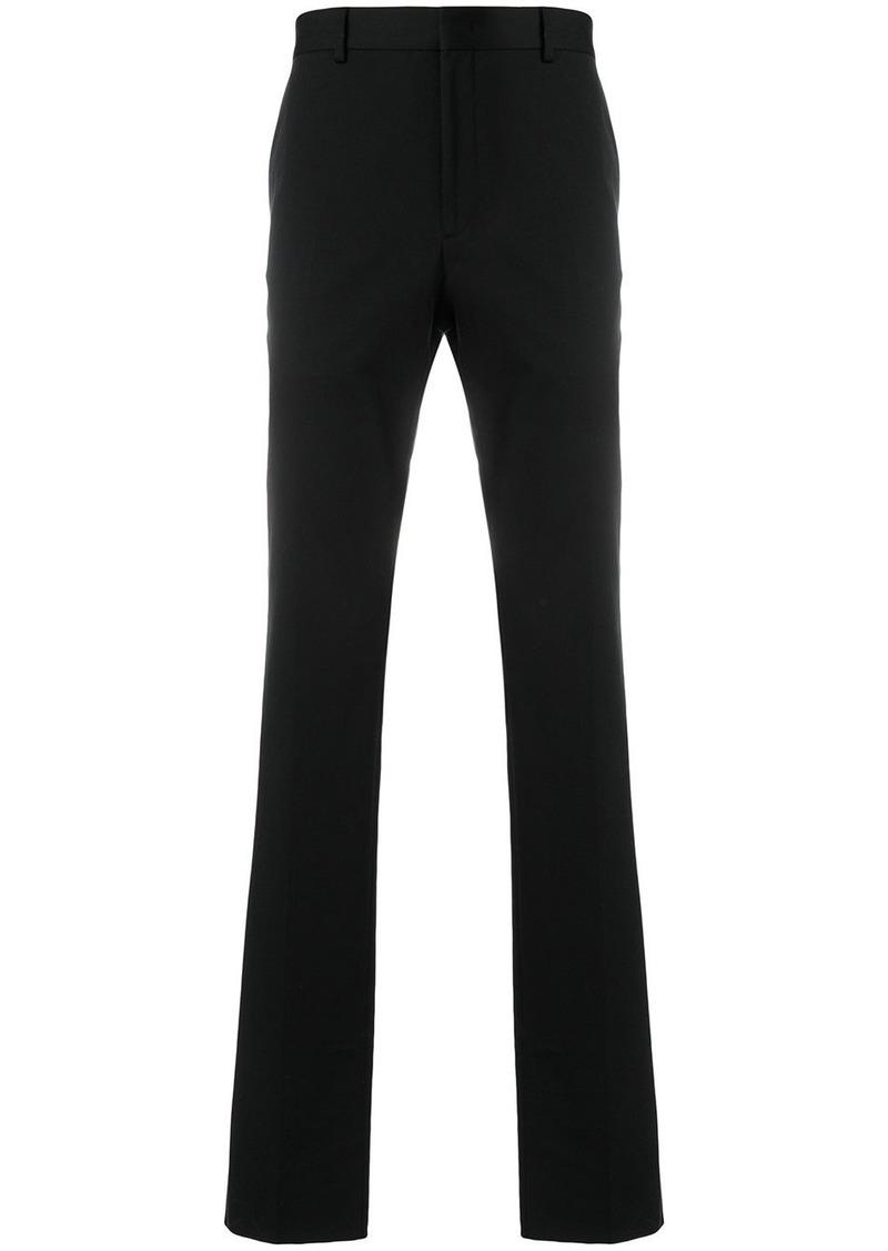 Fendi straight leg trousers - Black
