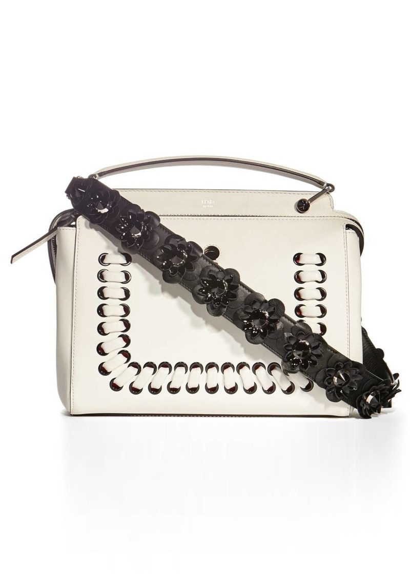 b41edbf943d0 Fendi Fendi  Strap You  Leather Flower Bag Strap