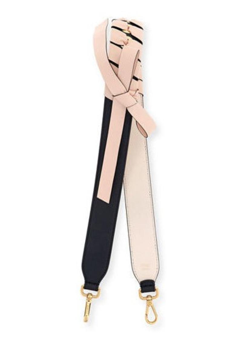 Fendi Strap You Ribbon-Wrapped Shoulder Strap for Handbag