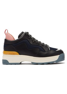 Fendi T-Rex low-top leather trainers