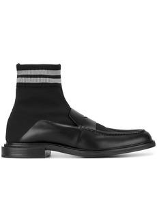 Fendi thick sock loafers - Black
