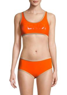 Fendi Two-Piece Logo Bikini Set