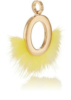 Fendi Women's ABClick O Bag Charm - Gold