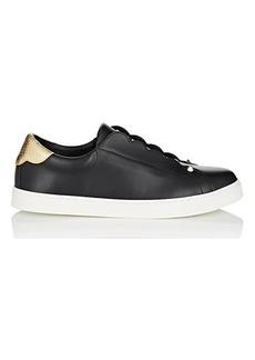 Fendi Women's Leather & Knit Slip-On Sneakers
