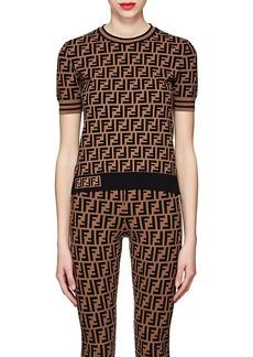 Fendi Women's Logo Knit Top