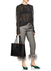 6356839abb Fendi Fendi Women s Logo Shopper Leather Tote Bag - Black