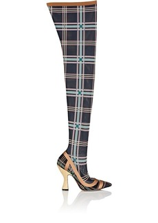 Fendi Women's Sculpted-Heel Over-The-Knee Boots