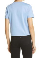 Fendi Women's Trompe l'Oeil Logo Jersey T-Shirt