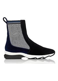 Fendi Women's Velvet Sock Sneakers