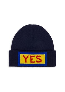 Fendi Yes Wool Beanie