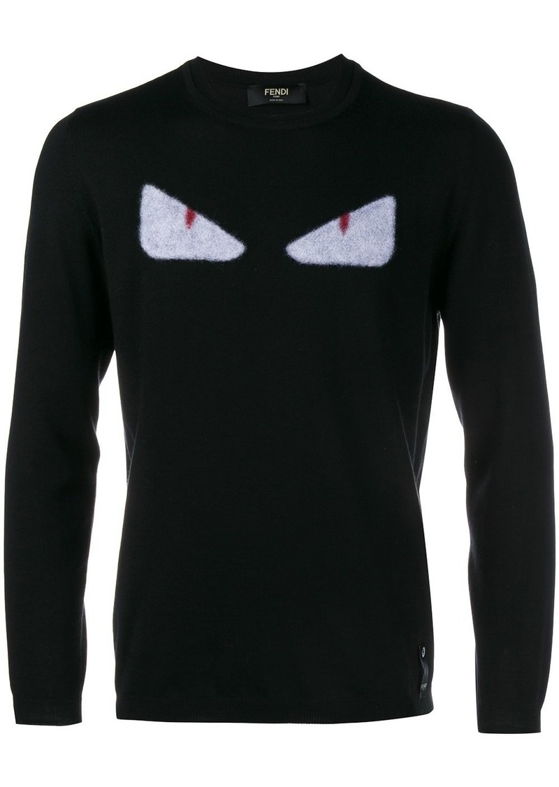 Fendi Wool Monster Knit jumper