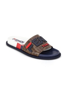 Fendi x FILA Mania Logo Pool Slide (Women)