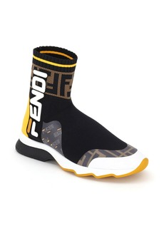Fendi x FILA Mania Logo Sock High Top Sneaker (Women)