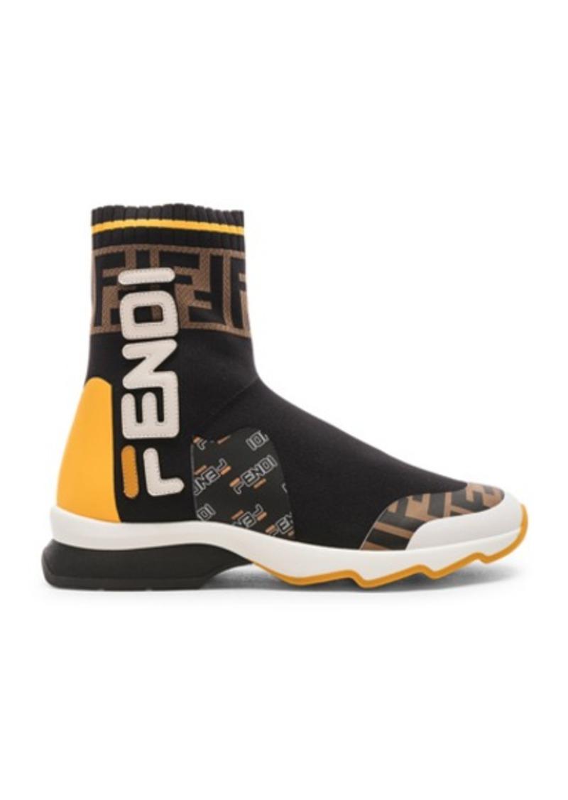 b9afb2caa94e Fendi Fendi x FILA Sock Sneakers