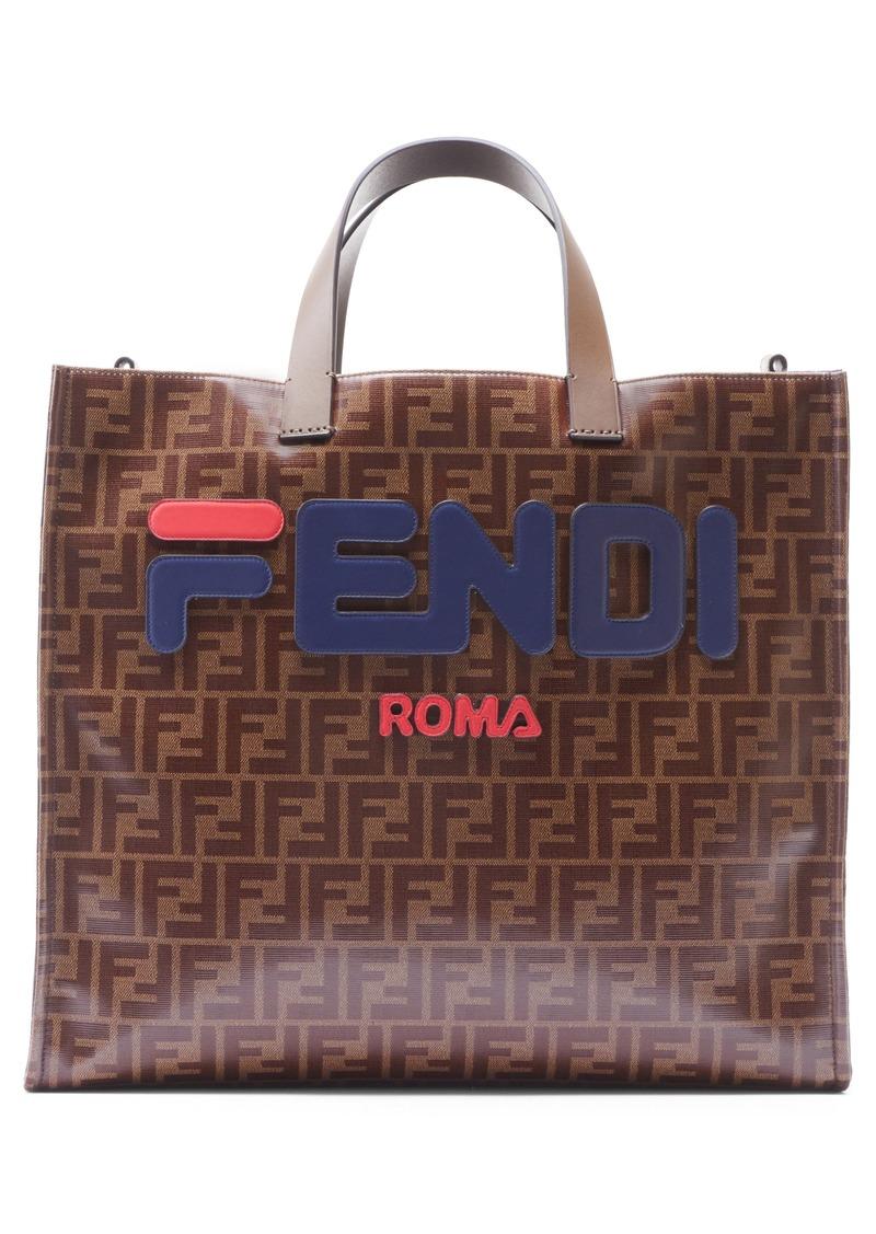 ddd0e1eac174 Fendi Fendi x FILA Mania Logo Tess Shopper