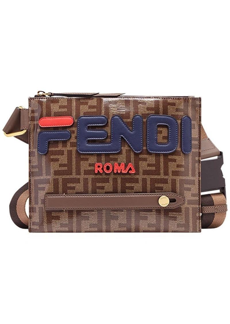FendiMania logo messenger bag