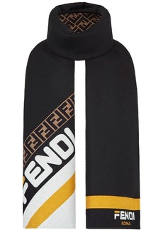 FendiMania logo scarf