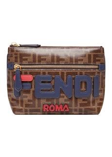 FendiMania medium pyramid wallet