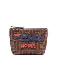 FendiMania small logo pyramid wallet