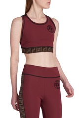 Fendirama Fitness Cropped Top