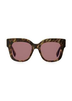 Fendi FF 0359 Square Logo Sunglasses