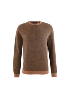 Fendi Ff Allover Round Neck Jumper