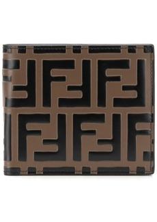 Fendi Double F print wallet
