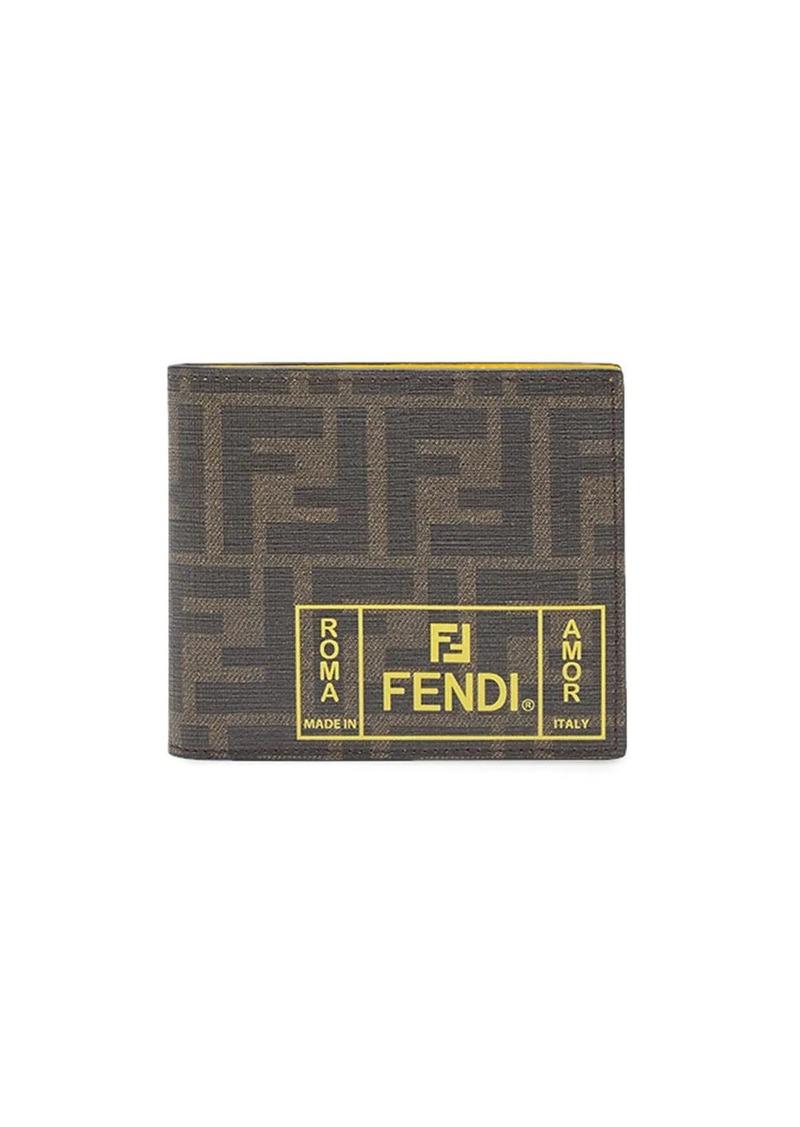 Fendi FF billfold wallet