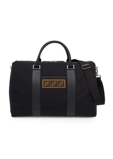Fendi FF Embroidered Duffle Bag