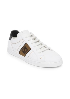 Fendi FF Embroidered Sneakers