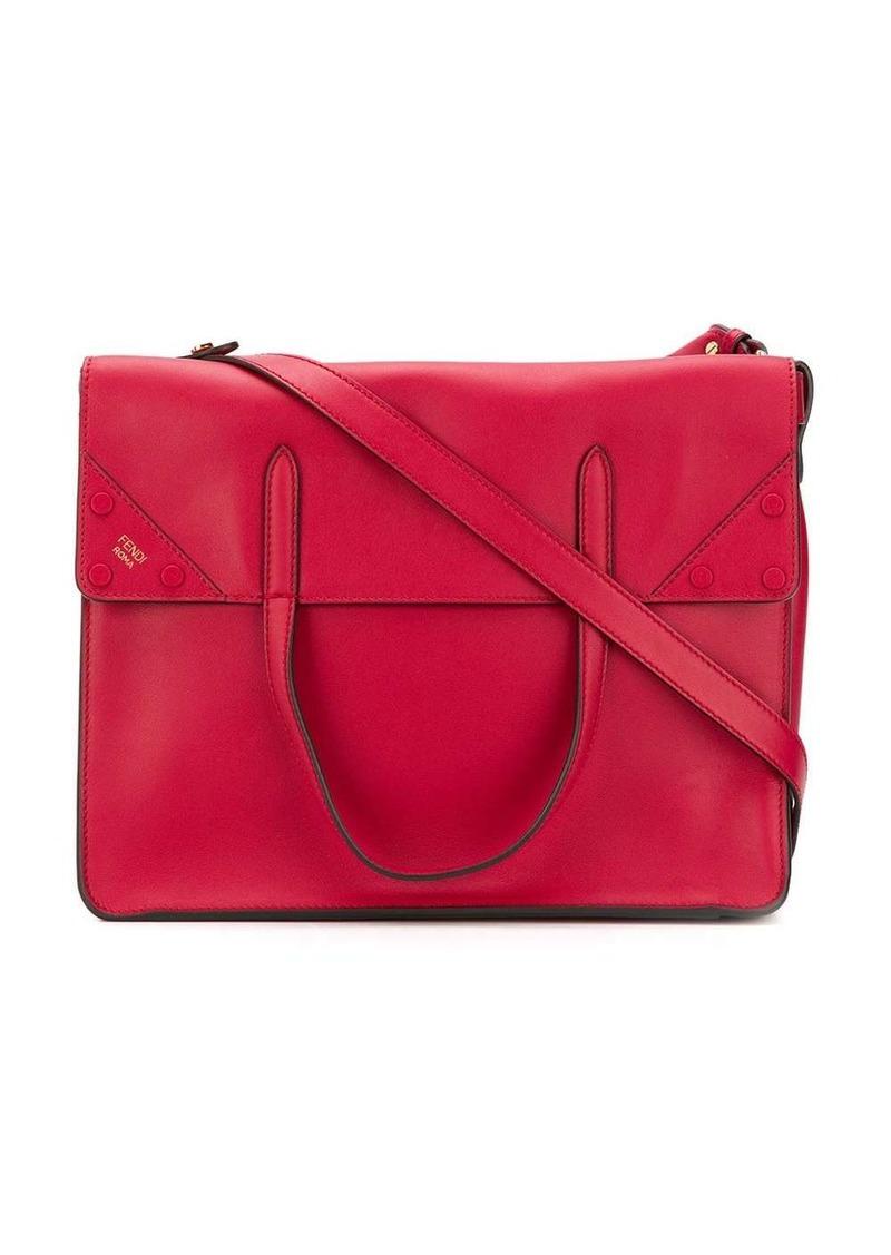 FF fendi slip large shoulder bag