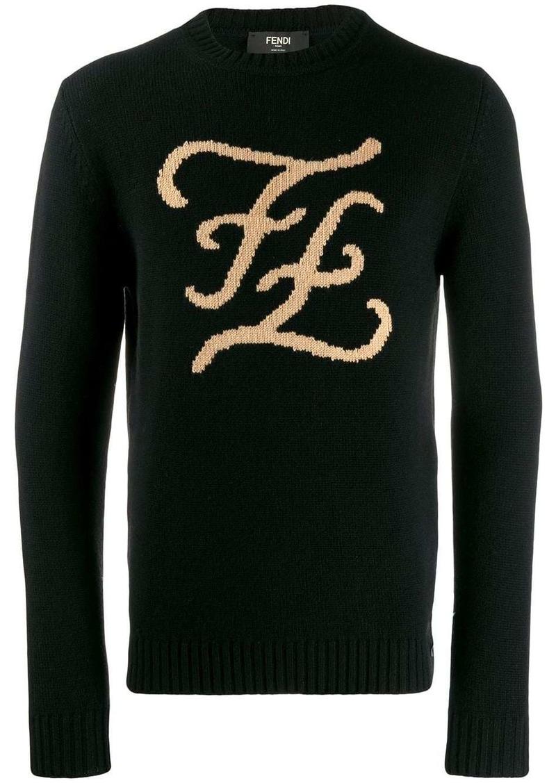 Fendi FF Karligraphy sweater