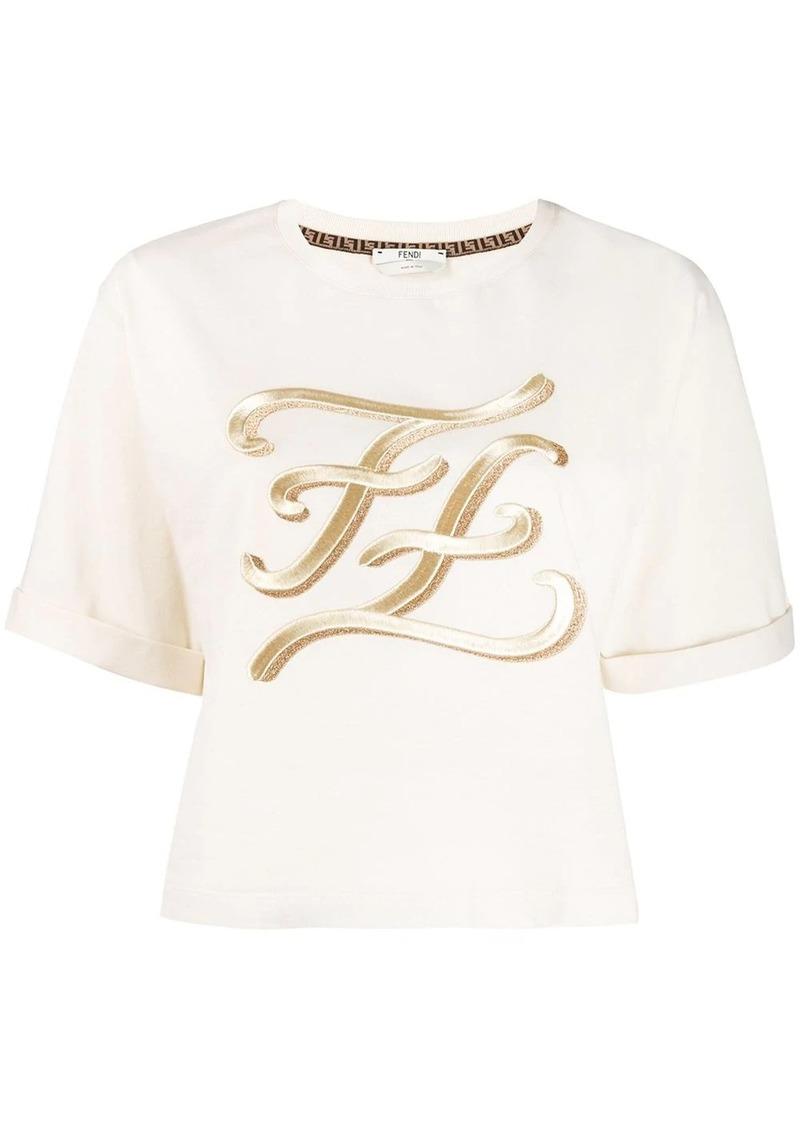 Fendi FF Karligraphy T-shirt
