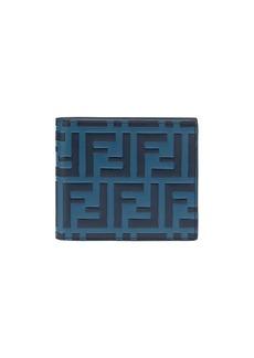Fendi FF logo bi-fold wallet