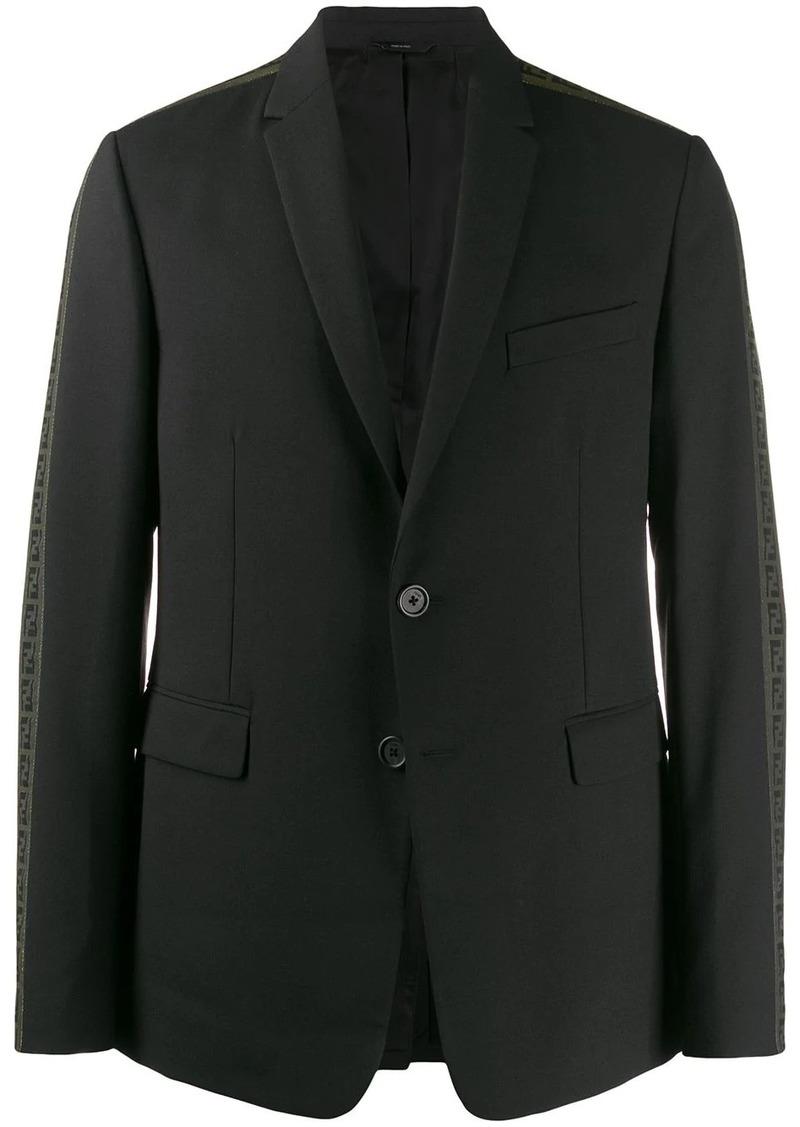 Fendi FF logo blazer