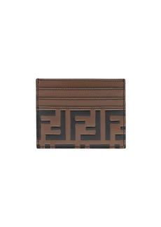 Fendi FF logo card holder